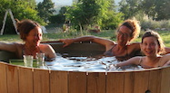 dutchtub bed and breakfast spa relax ecosostenibile