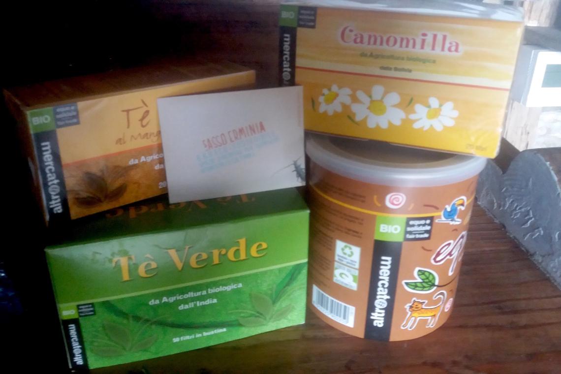 prodotti alimentari biologici equo solidale B&B ecosostenibile sassoerminia